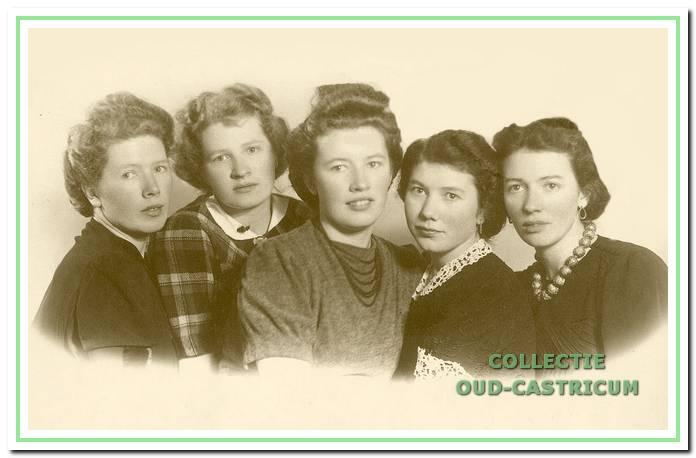De zusters van Dirk Schotvanger.