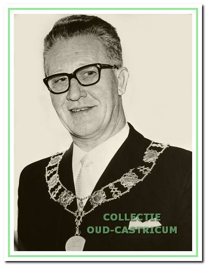 Burgemeester W.C.A.M. van Boxtel.