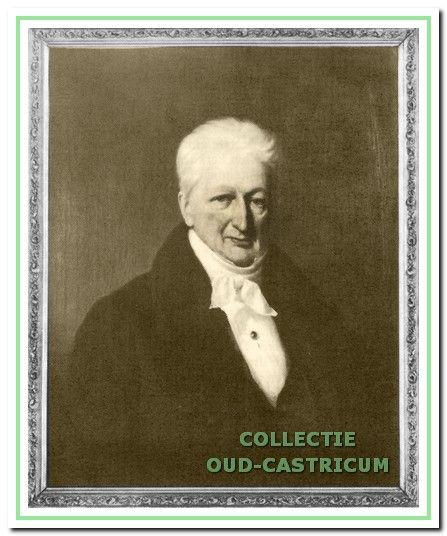 Jan de Quack, burgemeester van Castricum van 1837 tot 1852.