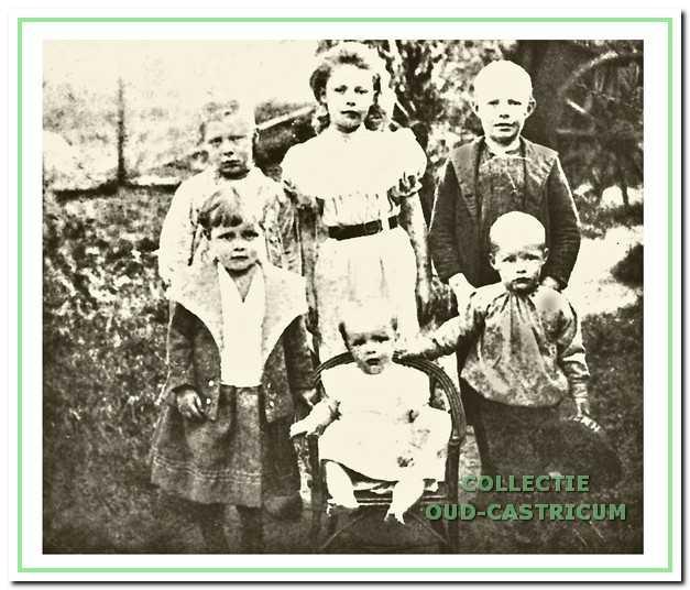 De kinderen van Cornelis Lute en Jacoba Brakenhoff. Deze kinderen zijn allemaal geboren te Castricum in het Knophuis.