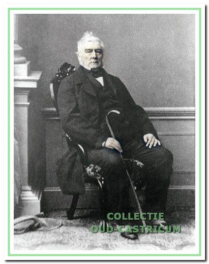 Jacob Rendorp van Kasteel Marquette op latere leeftijd. Heemskerk, 1868.