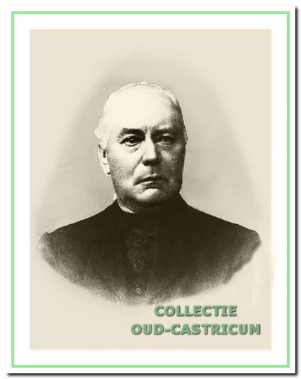 Pieter Portegies die zich in 1877 als huis- en rijtuigschilder in Castricum vestigde.
