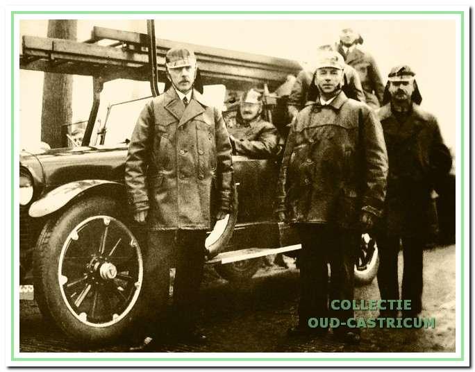 Eind 1925 de slangenwagen uit Alkmaar.
