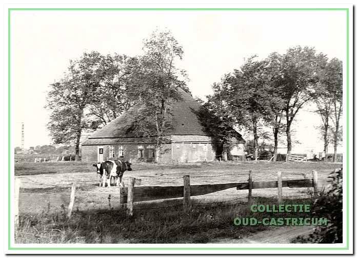 Brakersweg 2, de boerderij van Piet Borst.