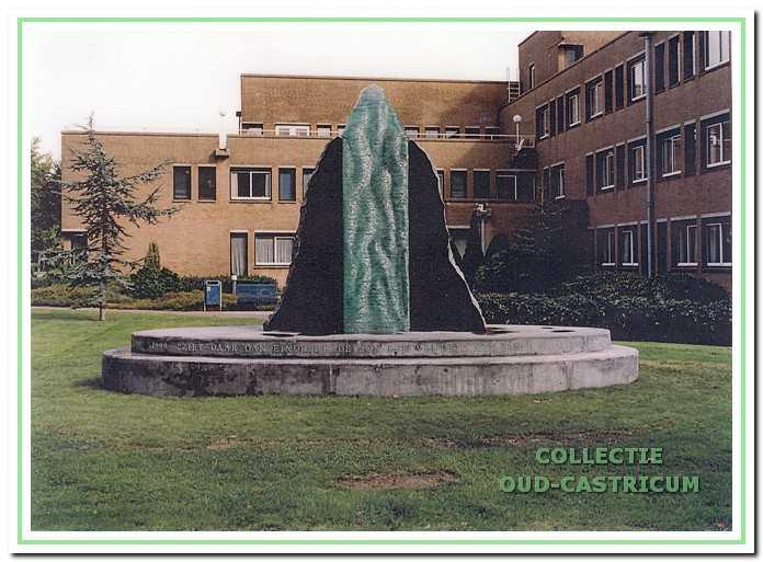 Het monument ter herdenking van de 'Slag bij Castricum'.