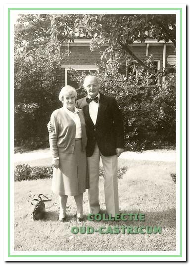 Ber Zonneveld en Agatha Glorie.