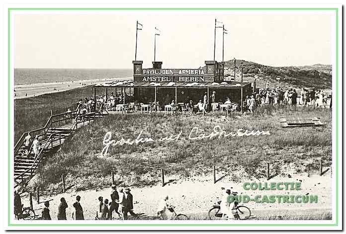 Paviljoen Armeria dat in 1925 werd gebouwd.
