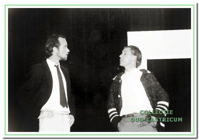 Frank Edam en Gosse Zoet speelden in diverse stukken van Forento.