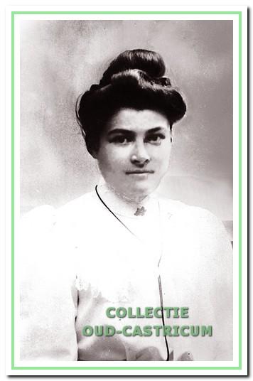 Echtgenote Catharina Hohensteijn.