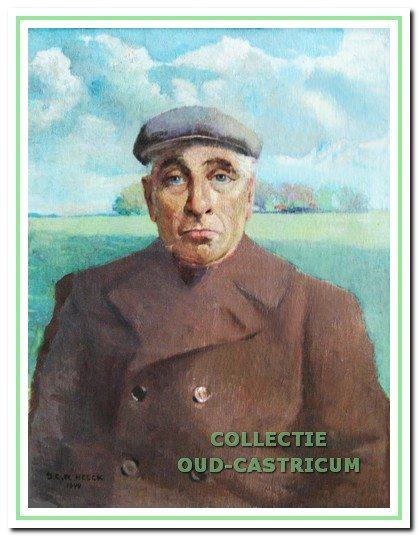 Portret van Albert Asjes van de Alberts Hoeve