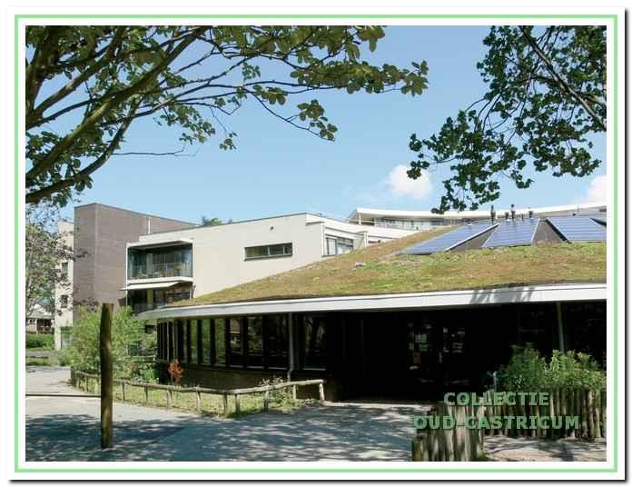 De eerste duurzame basisschool van Nederland de 'Sokkerwei'.
