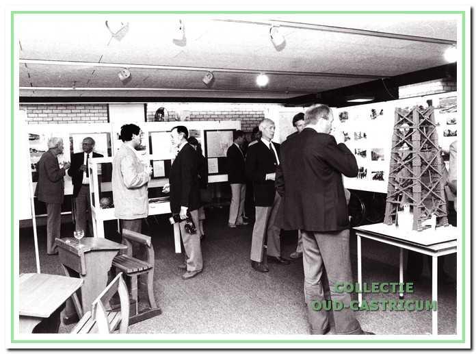 Expositie in 1987 in de bibliotheek ter gelegenheid van het 20-jarig bestaan van de werkgroep.
