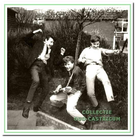 The Casticks in 1963.