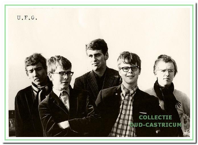 De Experimental Soulgroep UFO trad in 1968 regelmatig op in Relax.
