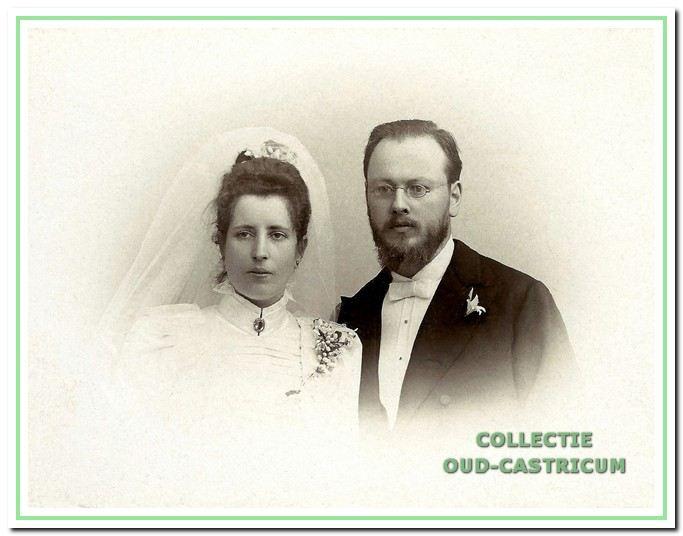 Jan Willem Jacobi trouwde met Marie Albertine van Leersum, Breda 1898.