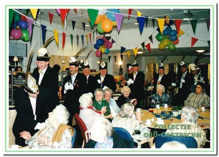 Ook in De Boogaert werd carnaval gevierd.