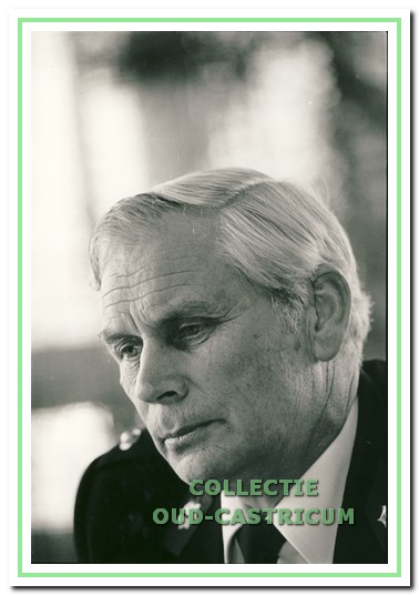 Tiesinga groepscommandant van 1979 tot 1991.