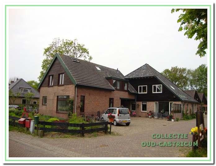 De vakantieboerderij 'de Hooiberg' aan de Bleumerweg.