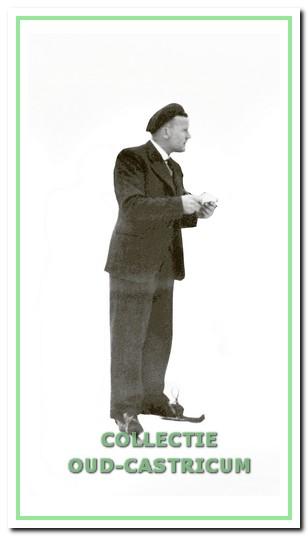 Gerrit Ronk heeft veel voor de vereniging gedaan.