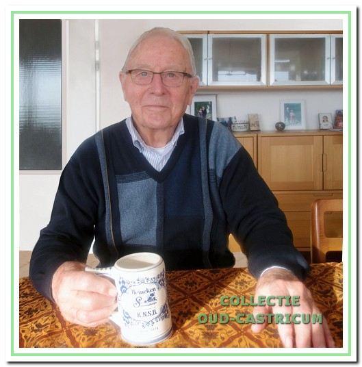 Voorzitter Mart Benard.