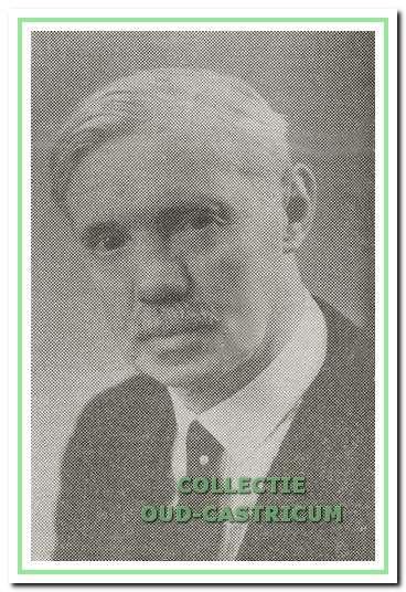 Dominee Johannes Krüger.
