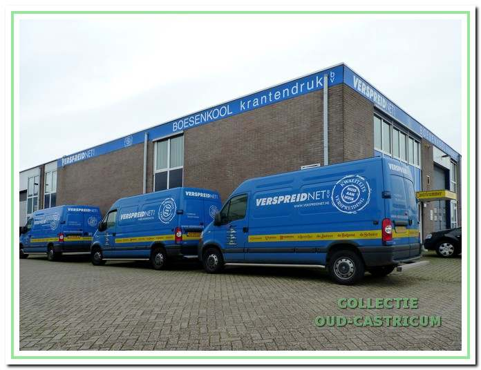 Drukkerij Boesenkool die tot 2011 op de Castricummer Werf gevestigd was.