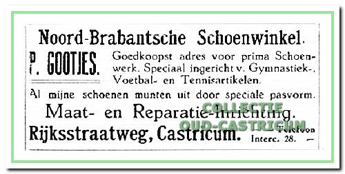 1922:Advertentie van P.Gootjes.
