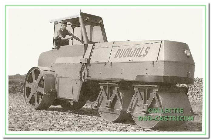 De firma Borst was direct betrokken bij de uitvinding van deDuowals.