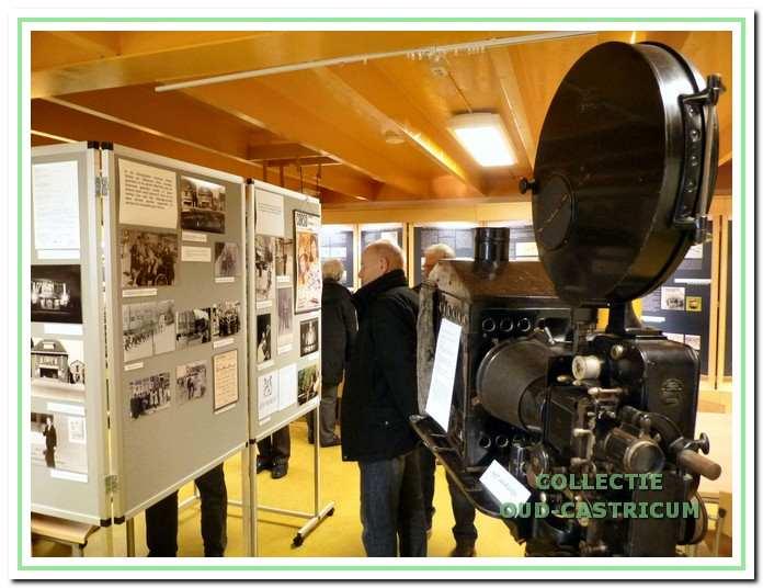 De tentoonstelling over het Corsotheater in De Duynkant.
