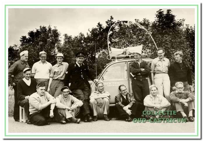 De leiding van de tour in 1961.