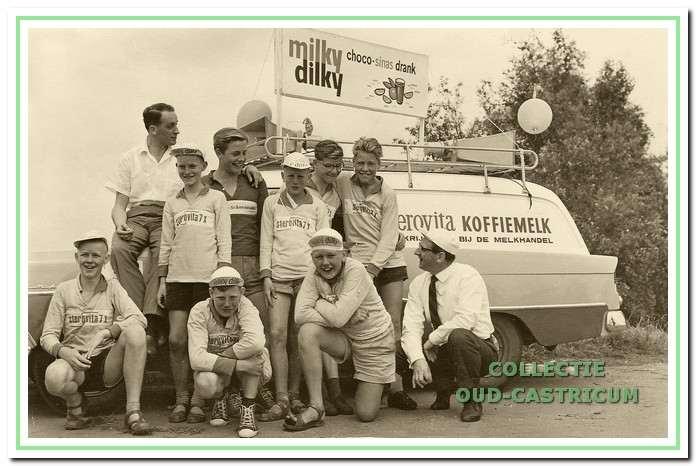 De ploeg van Sterovita, ook wel Milky Dilky genoemd.