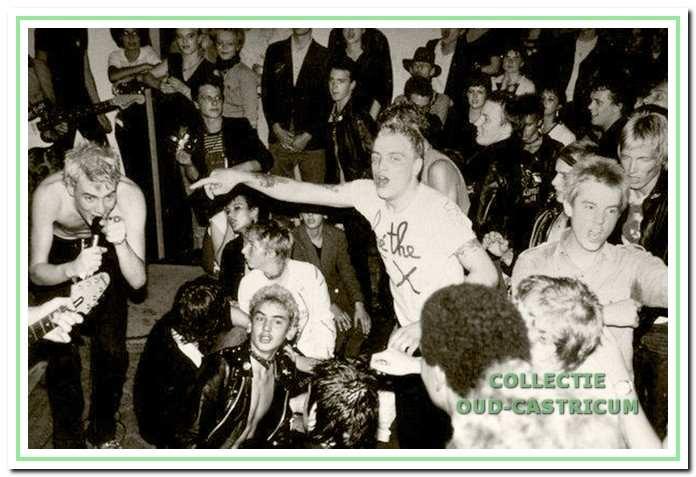 Punkfestival in 1979 met de groep The Ex.