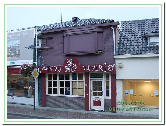De bezoekers van De Bakkerij vonden tijdelijk onderdak in de leegstaande Voem Voembar aan de Dorpsstraat 52.