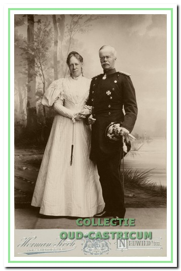 Prinses Marie von Wied en haar echtgenoot, geportretteerd in 1896 (Rijksbureau voor Kunsthistorische Documentatie).
