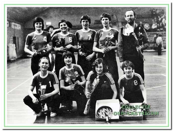 Dames I kampioen in 1981.