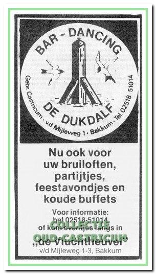 Een advertentie uit 1983.