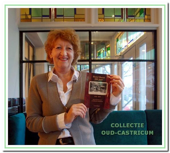 Lia de Ruyter schreef het boekje 'Hotel Borst 100 jaar'.