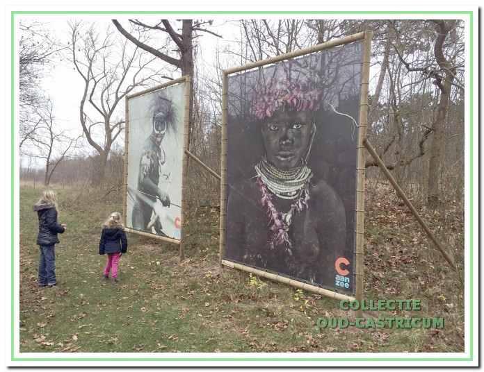 Foto's van het project 'Be inspired' in het Castricumse duingebied.