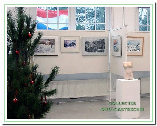 In het atelier en op andere plaatsen zijn tientallen exposities van de schilderclub Perspectief gehouden.