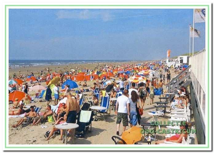 Het strandbezoek neemt enorm toe.