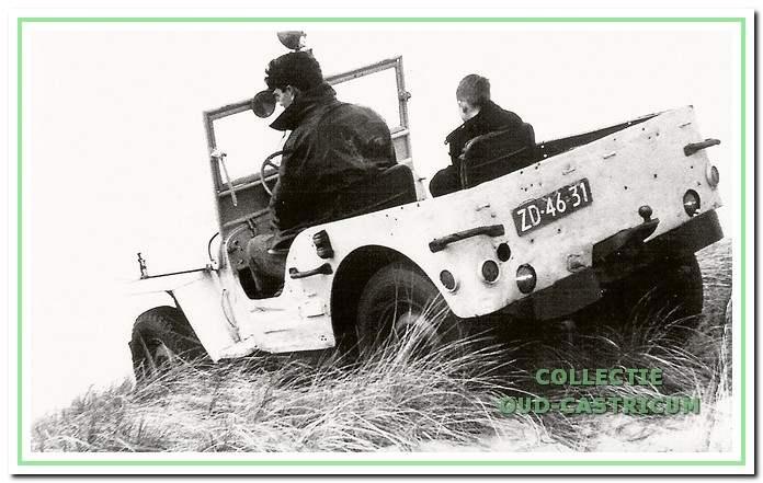 De Willy jeep van Thijs Bakker