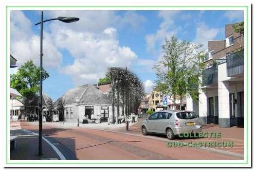 1900. Hoek Burgemeester Mooijstraat, toen nog Kramersweg geheten, met Café Sportlust.