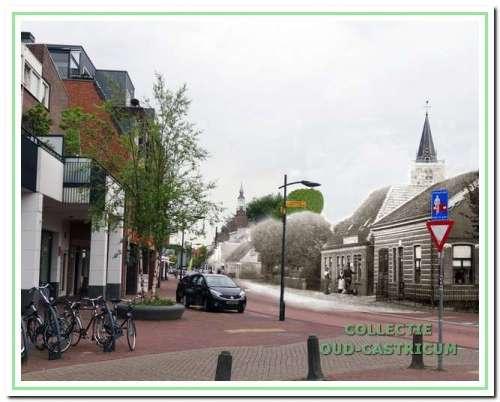 1902. De Dorpsstraat heette toen Rijksstraatweg.