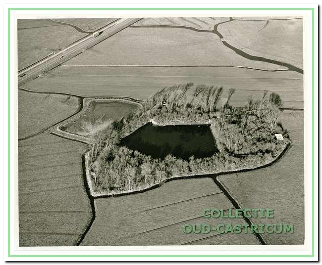 Deze eendenkooi lag vroeger op het grondgebied van Castricum maar sinds de aanleg van weg Limmen - Uitgeest is het in 1963 grondgebied van Uitgeest geworden. Voorheen heette dit natuurgebied Eendenkooi Uitgeest. De kooi is in 1999 vernoemd naar de plotseling overleden kooiker Dirk van der Eng. Tot in de jaren negentig was deze kooi flink in verval. Ook het bos rond de plas was door de iepziekte op sterven na dood. De kooiker heeft toen samen met vrijwilligers de kooi in oude staat gebracht. Nu is de kooi weer die verstilde historische plek die het ooit was. De eendenkooi wordt door vrijwilligers van ons beheerd.
