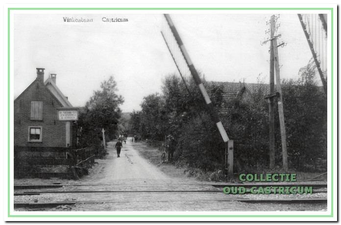 Vinkebaan 1907; nog een onverharde weg.