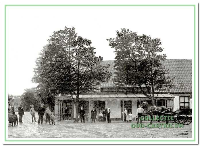 De Rustende Jager omstreeks 1900.