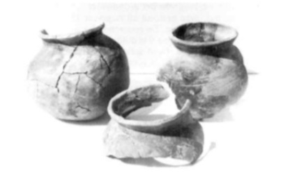 Gevonden kogelpot-aardewerk.