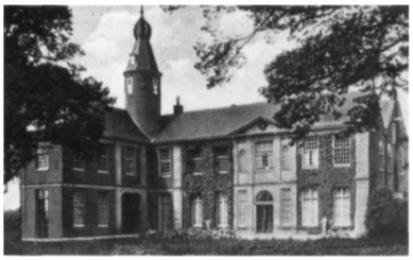 Het kasteel Marquette te Heemskerk.