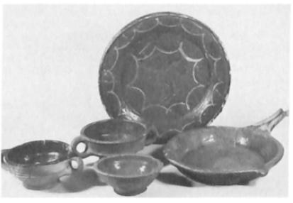 Rood aardewerk (14e - 16e eeuw).
