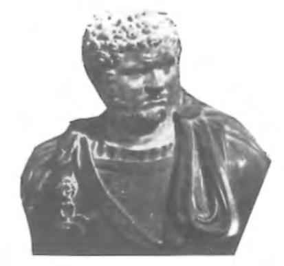 Caracalla, Romeins keizer van 211 tot 217.